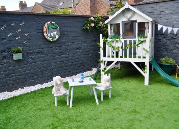 BillyOh Bunny Max Tower Playhouse on grass with children playing