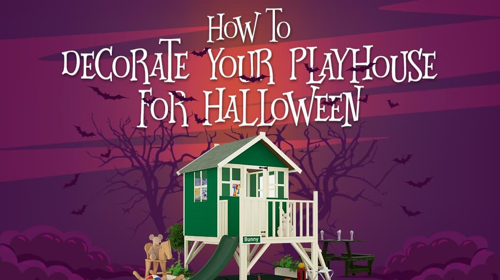 Halloween playhouse decoration