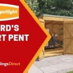 Customer Spotlight: Richard's Expert Pent Shed