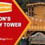 Customer Spotlight: Sharon's Bunny Tower Playhouse