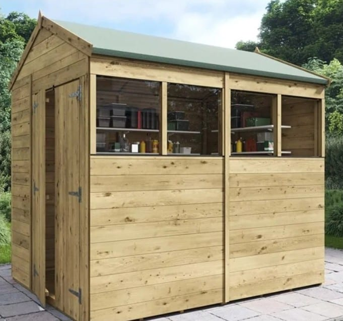 BillyOh Switch Tongue and Groove Apex Shed