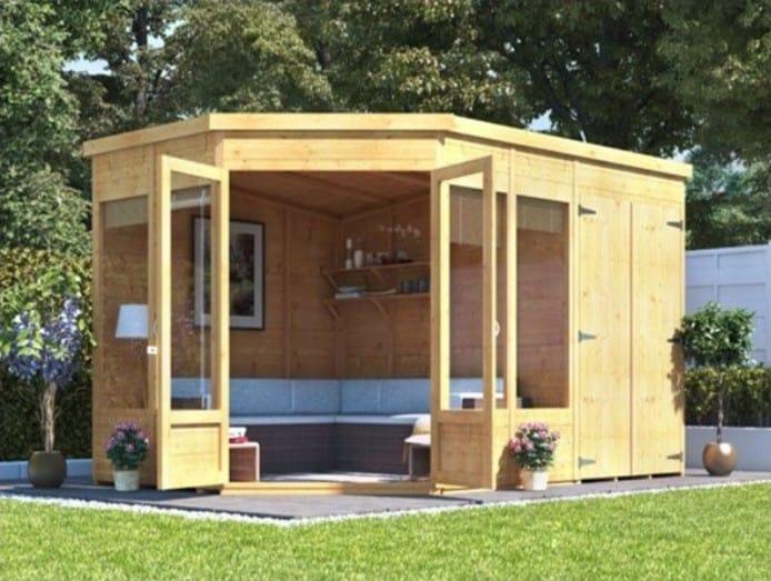 BillyOh Penton Corner Cabin With Side Store