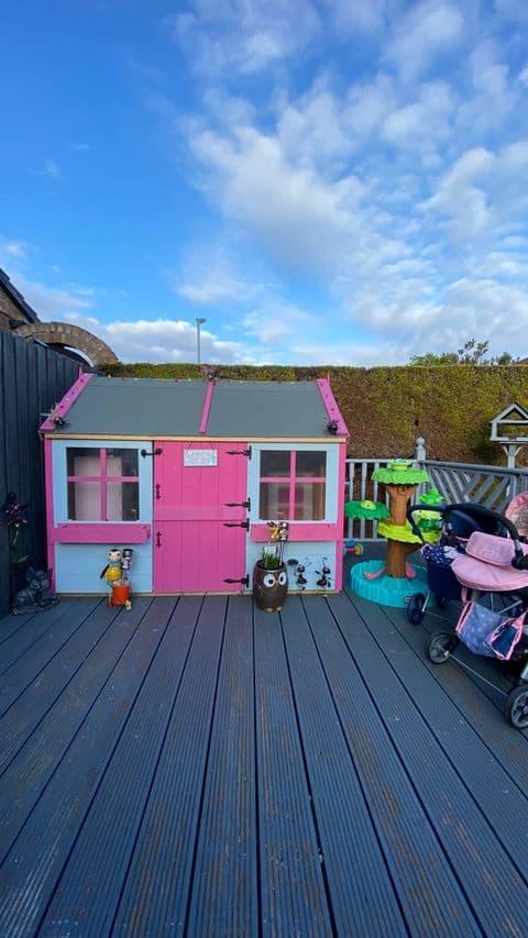 Christine's BillyOh Gingerbread Junior Playhouse Exterior
