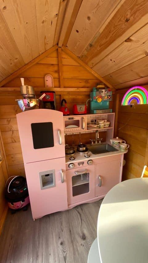 Christine's BillyOh Gingerbread Junior Playhouse Interior