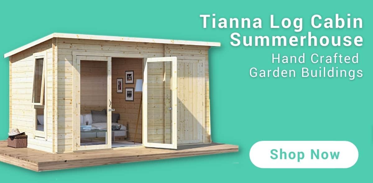 BillyOh-Tianna-Log-Cabin-Summerhouse-Banner-Teal