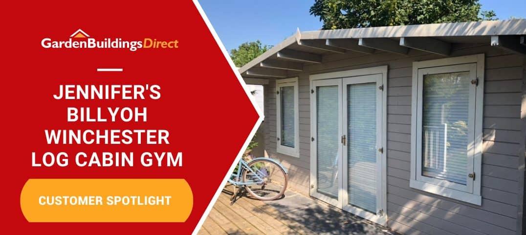 Jennifer BillyOh Winchester Log Cabin Gym
