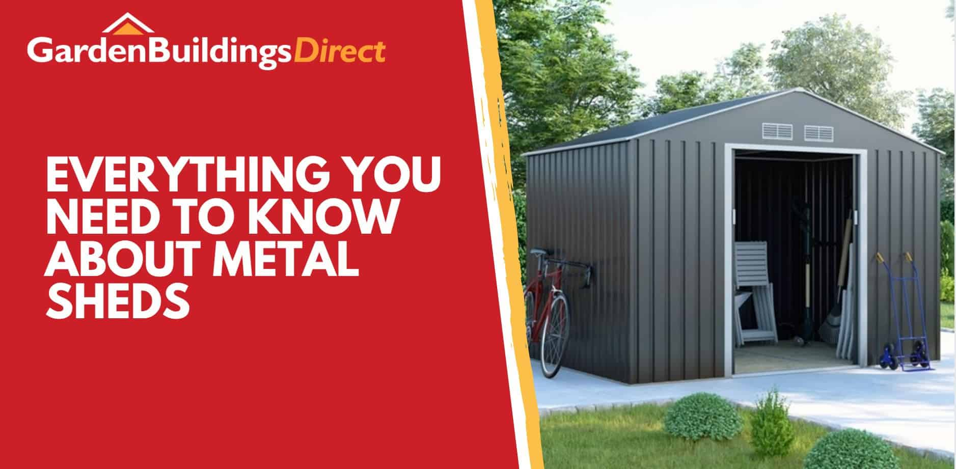 Everything you need to know about metal sheds banner