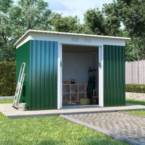 BillyOh Cargo Pent Metal Shed