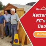 Customer Spotlight: Kettering Town FC's Windowless Double Door Shed
