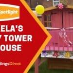 Customer Spotlight: Michaela's Bunny Tower Playhouse
