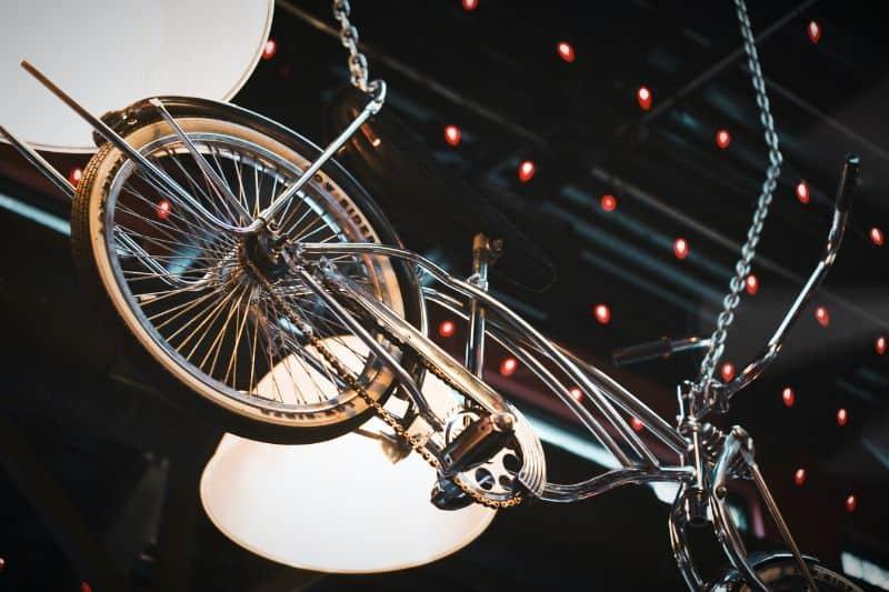 bike from underneath