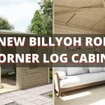 The new BillyOh Robyn  – A stunning corner log cabin