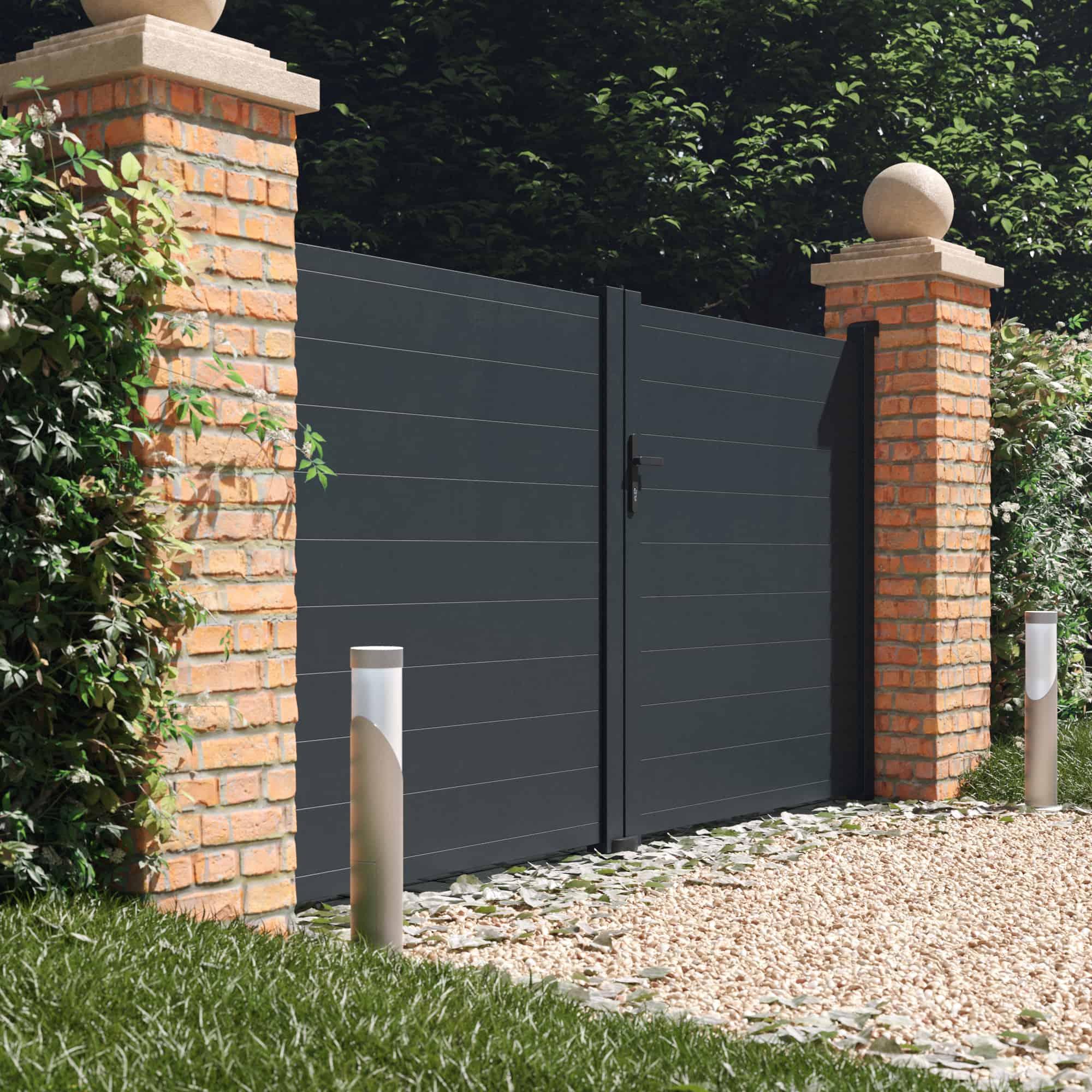 BillyOh Valencia double swing driveway gate