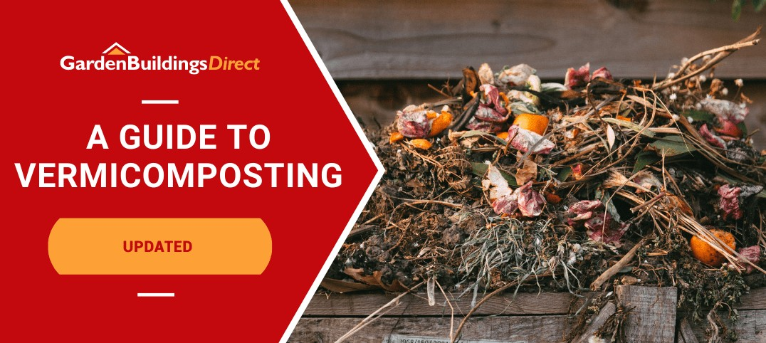Guide to vermicomposting with compost pile