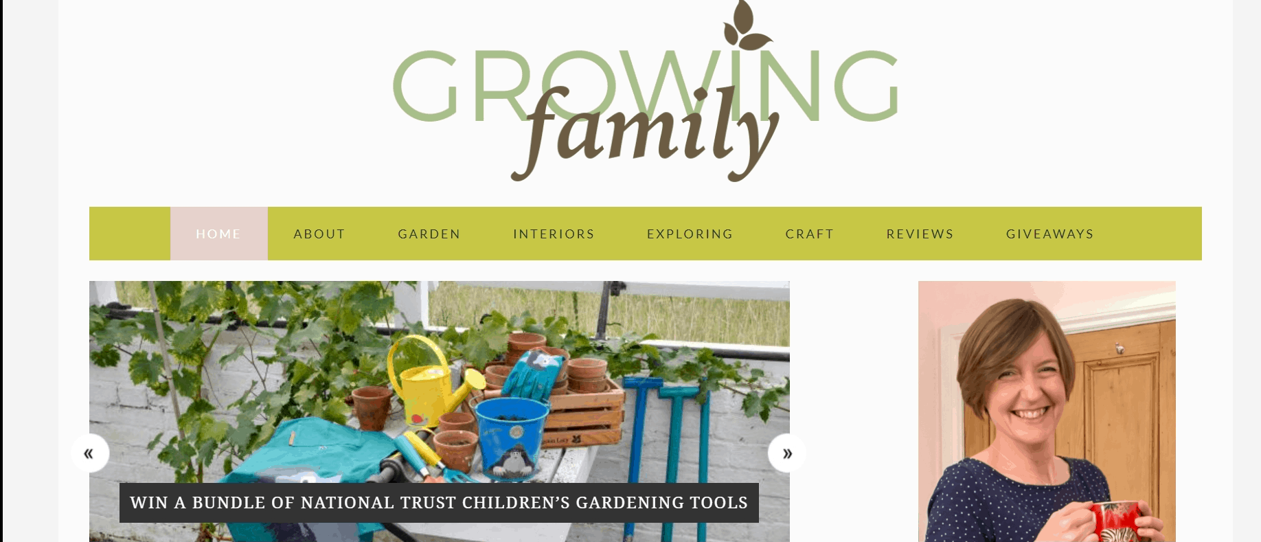 Growing Family Blog Banner With Catherine Hughes