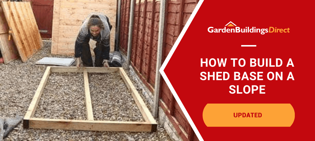 The Carpenter's Daughter building a shed base on gravel
