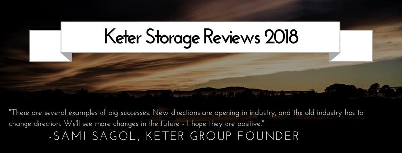 Keter Storage Reviews 2018