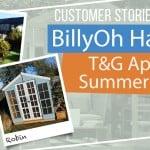 BILLYOH HARPER T&G APEX SUMMERHOUSE: CUSTOMER STORIES