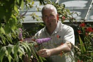 Geoff Stebbings of The Biking Gardener