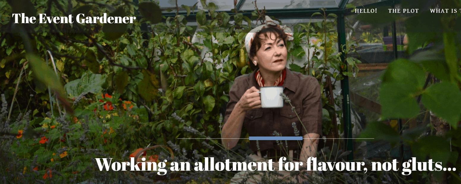 The Event Gardener Blog Banner