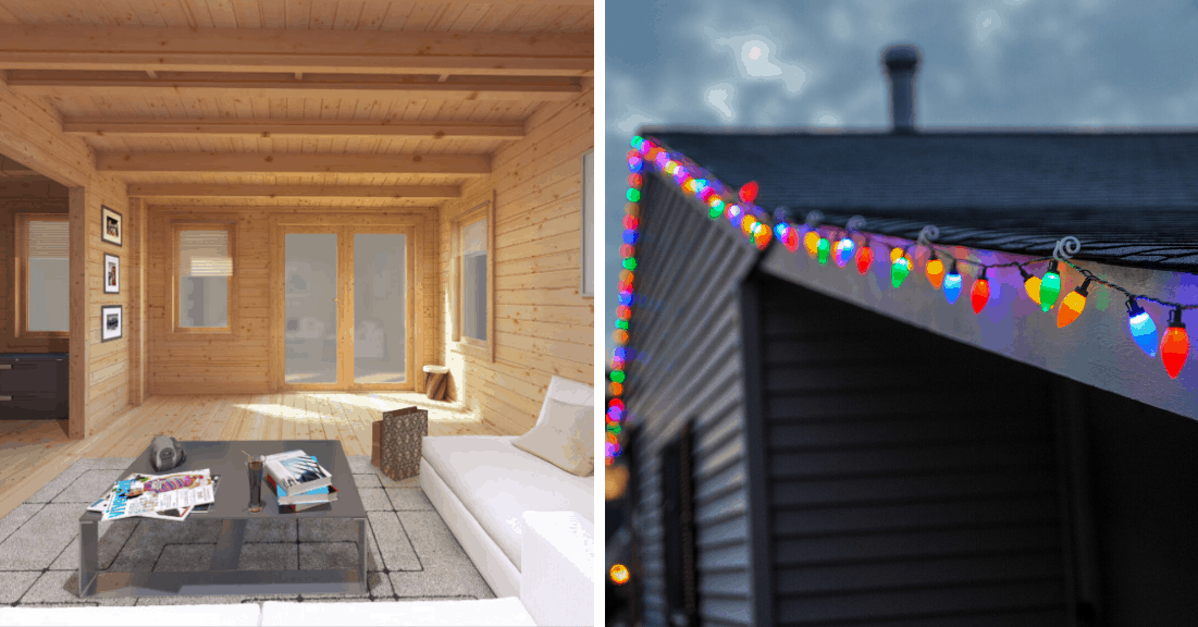 Ways to use your summer house in the winter