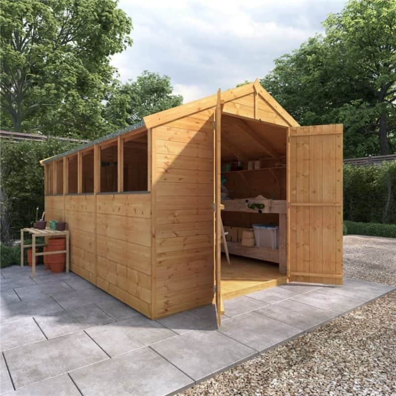 Master Tongue and Groove Apex Shed