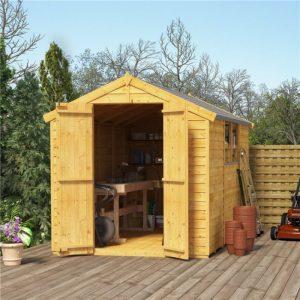 cheap bike storage shed - BillyOh Mini Keeper overlap