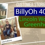 BillyOh 4000 Lincoln Wooden Greenhouse: Customer Stories