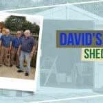 David's Master Apex Windowless Double Door Shed