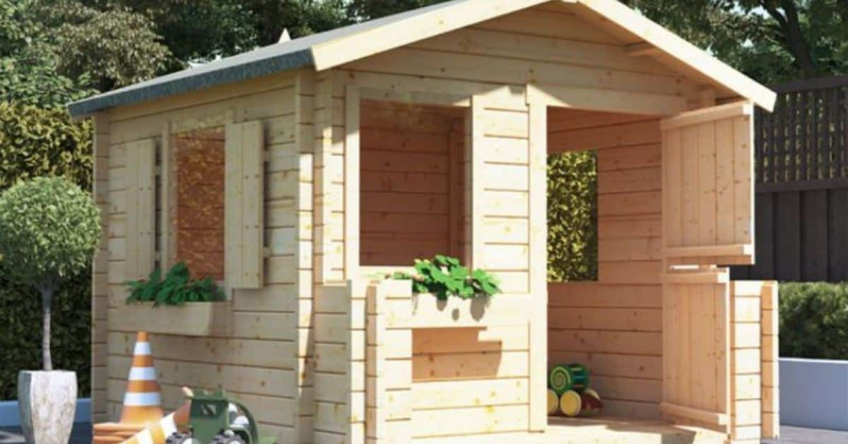 Best large playhouses at Garden Buildings Direct
