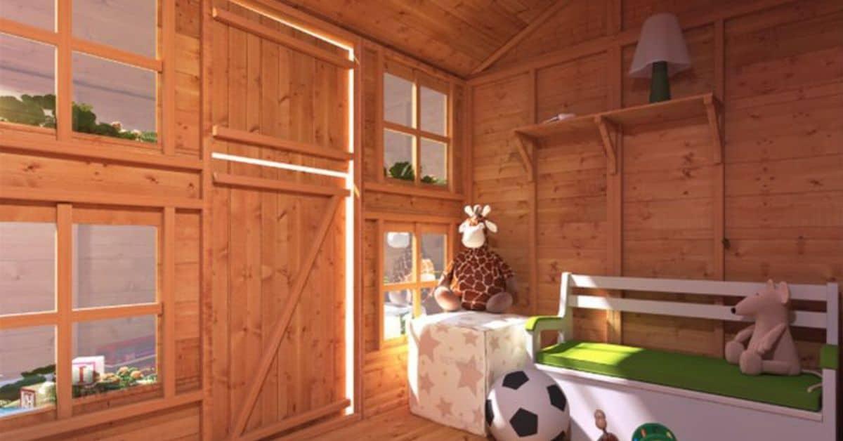 Best wooden playhouses
