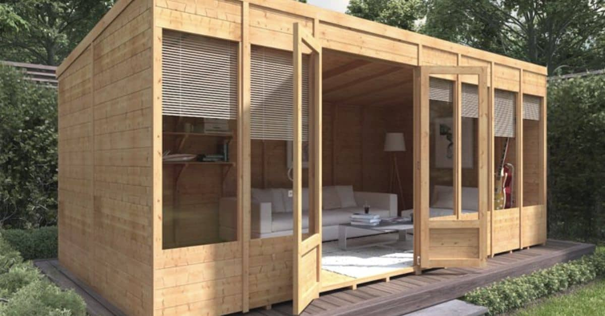 Enjoy your all year round summer house