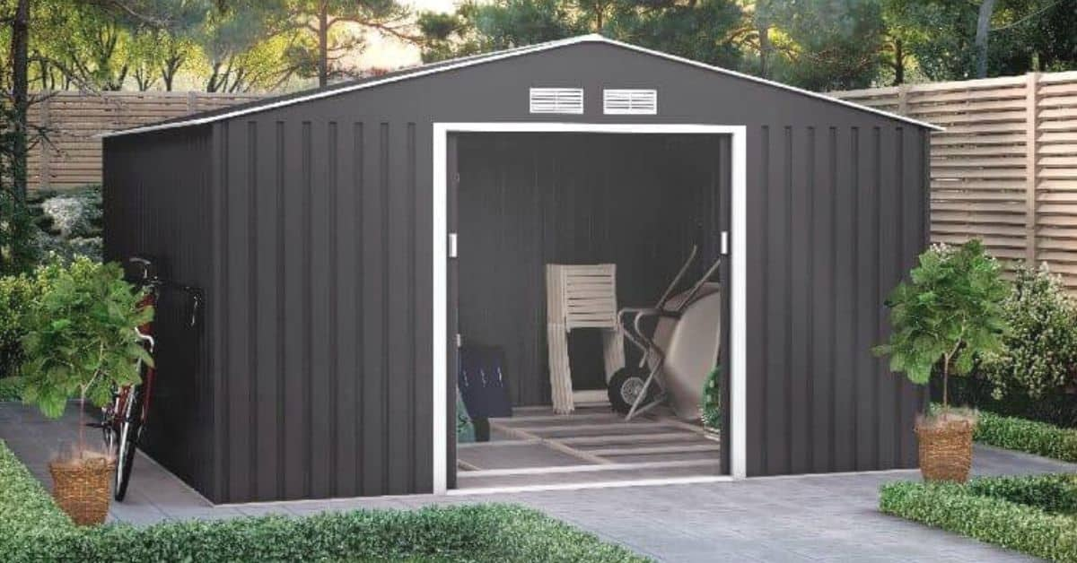 Metal shed insulation