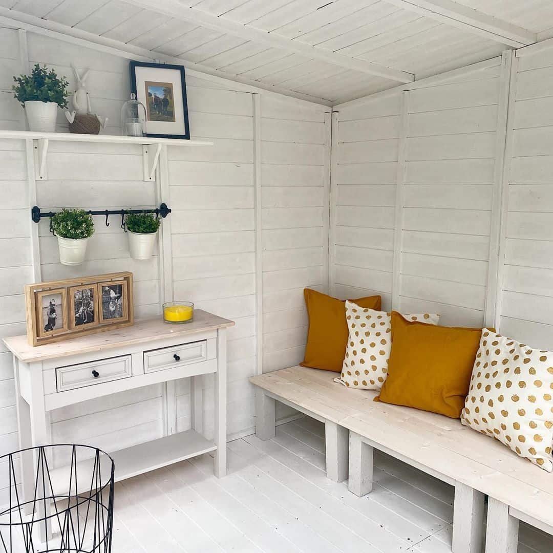 @our_countryside_journey BillyOh Picton Corner Summerhouse interior