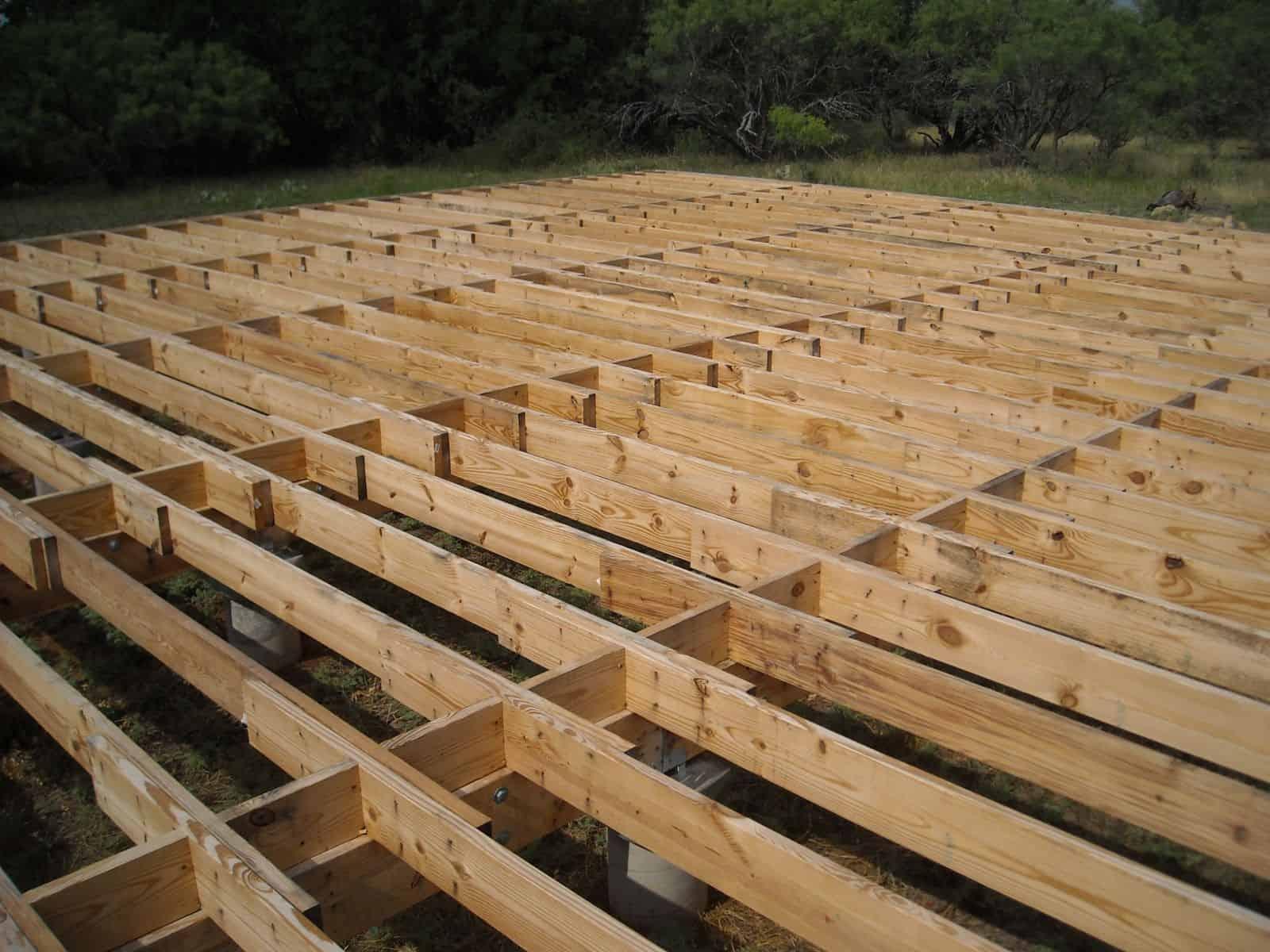timber sub-floor
