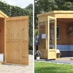 6 Space-Saving Garden Buildings Ideas