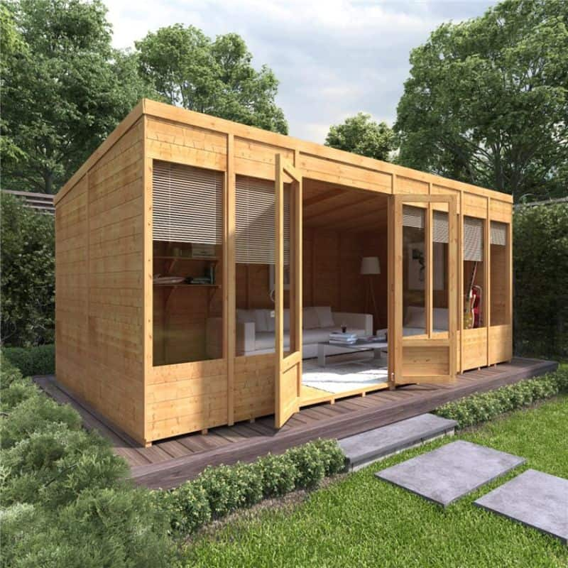 BillyOh Bella Tongue and Groove Pent Summerhouse