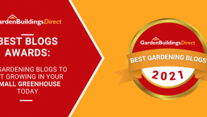Garden Buildings Direct Best Blogs for Small Greenhouses with medal